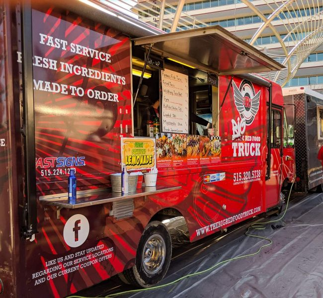The Big Red Food Truck