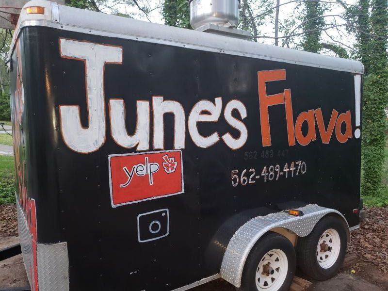 June's Flava Food Trailer