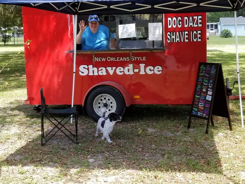 Dog Daze Shave Ice and more