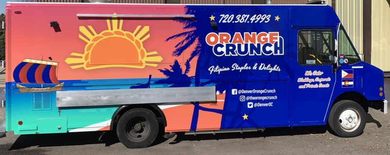 Orange Crunch Filipino Staples and Delights