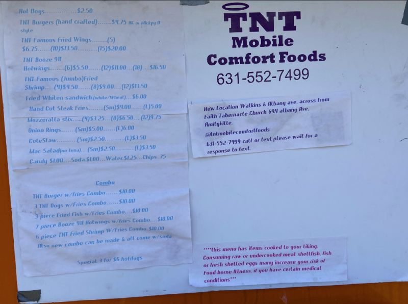 TNT Mobile Comfort Foods